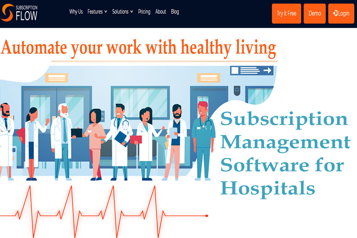 subscription management software for hospital management