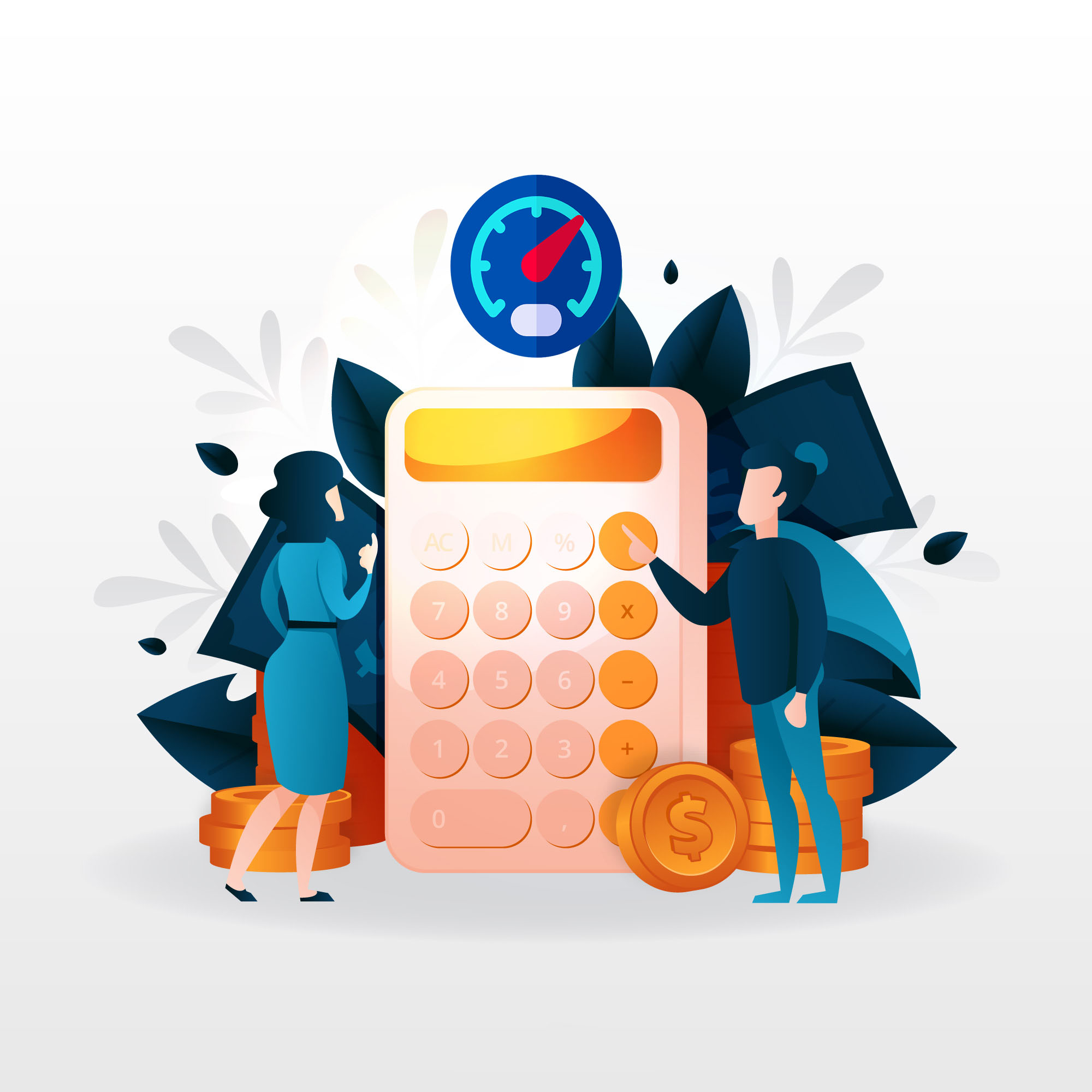 Metered billing for businesses