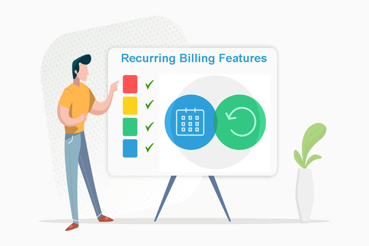 Recurring billing features